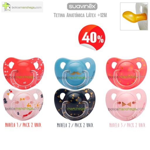 Suavinex gentlenman lady fox rabbit boticamanchega chupete anatonico latex 12M new novedad nuevo soother bebe baby bigote lazo moustache bigode pacifier Schnuller edicion limitada anatomical.png