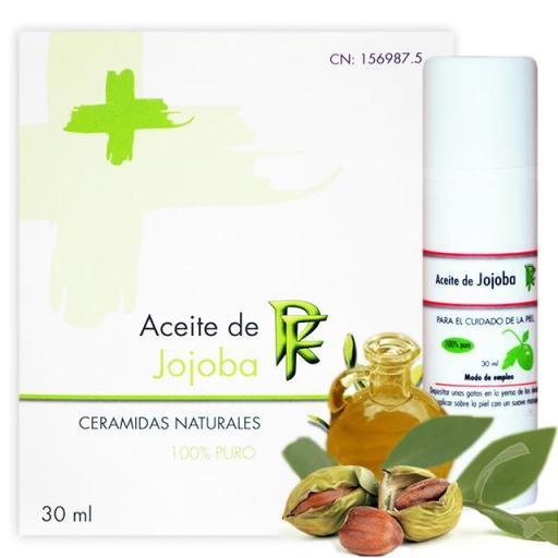 Aceite de Jojoba PURO Rueda Farma, 30 ml