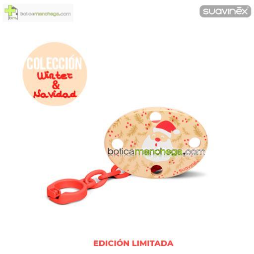 Broche Ovalado Modelo Papá Noel Colección WINTER/NAVIDAD Suavinex +0M