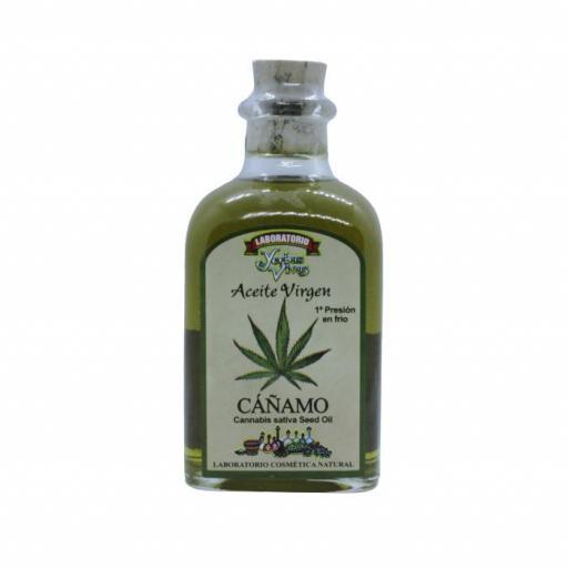 Aceite vegetal de cáñamo