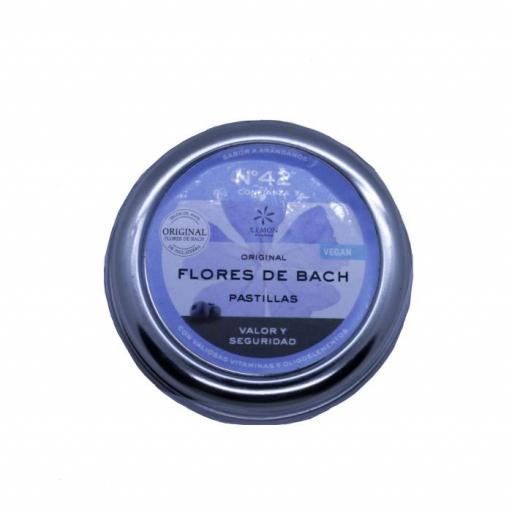 Caramelos Flores de Bach  Valor y seguridad