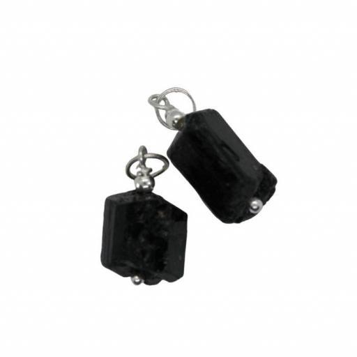 Colgante de Turmalina negra pequeño [1]