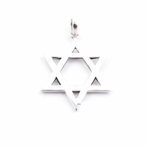 Estrella de David de Plata
