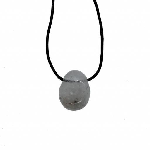 Colgante perita perforado de cristal de roca