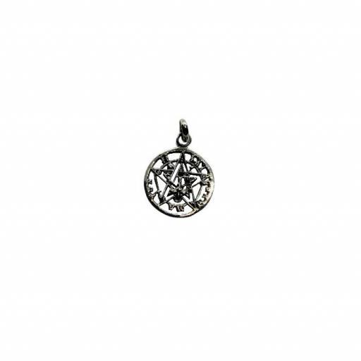 Colgante Tetragramaton Mini de Plata