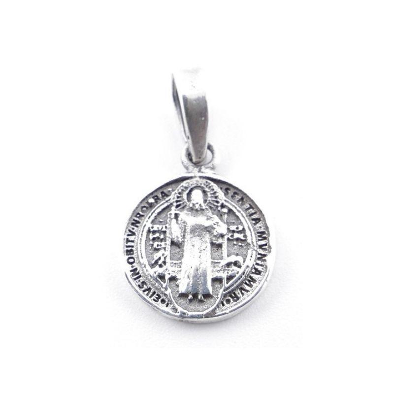 Colgante Medalla de San Benito Mini