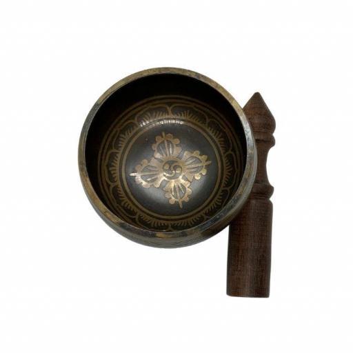 Cuenco tibetano pintado 5 metales [1]