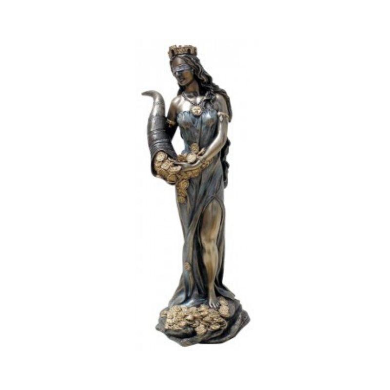 Figura de Diosa de la Fortuna