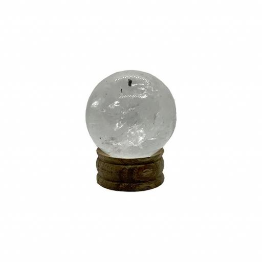 Esfera mineral de cristal de roca [1]