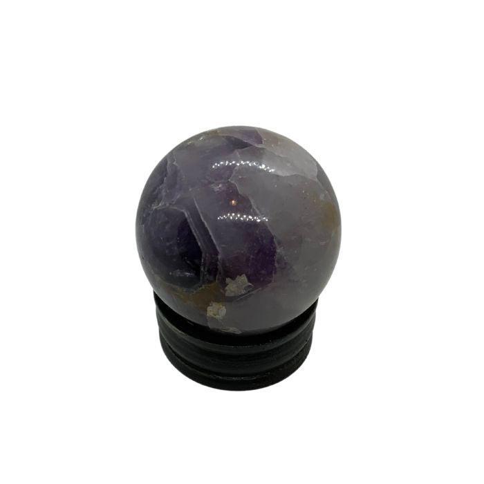 Esfera mineral de amatista