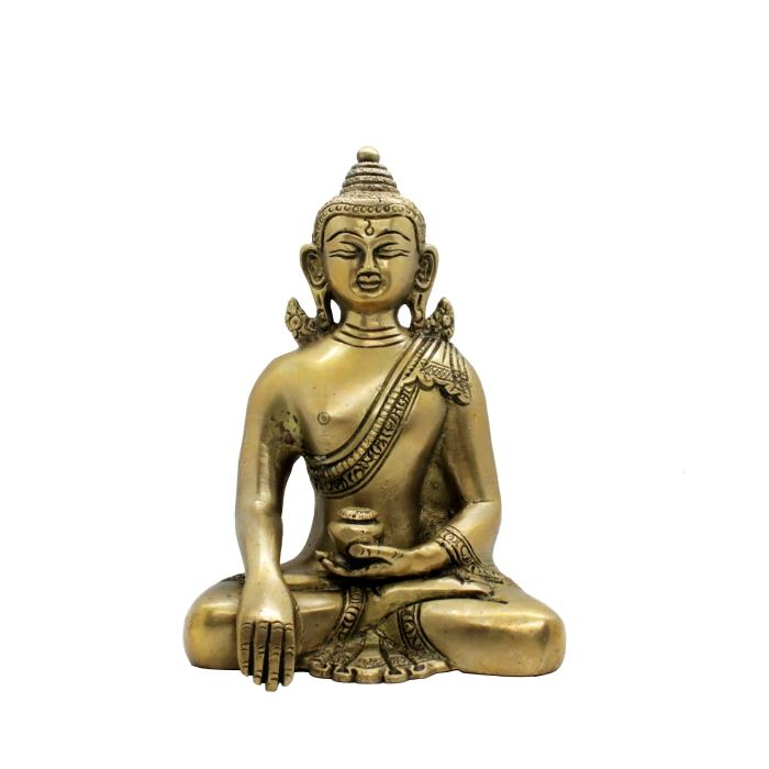 Figura buda de bronce