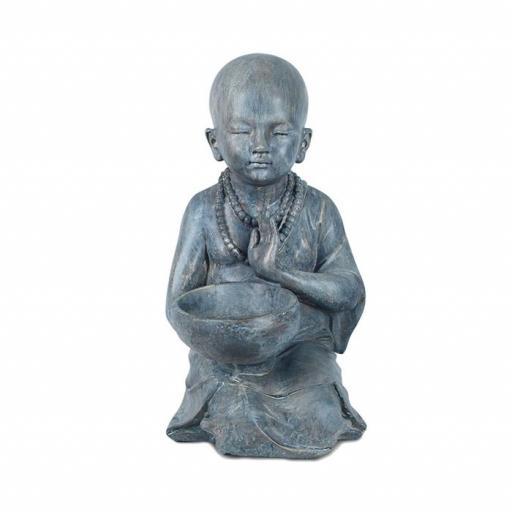 Figura Buda niño con cuenco