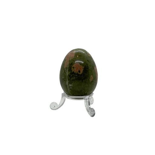 Huevo mineral de unakita