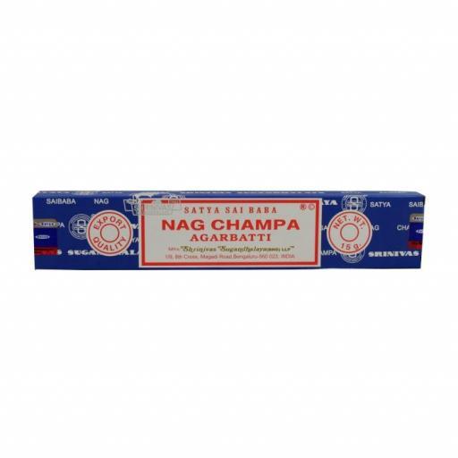 Incienso Satya Nag champa