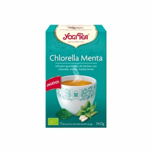 Té Yogi Tea Chlorella Menta