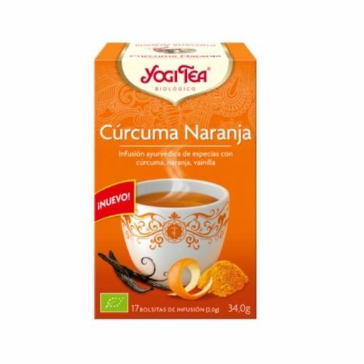 Té Togi Tea Cúrcuma Naranja
