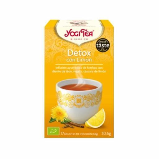 Té Yogi Tea Detox con Limón