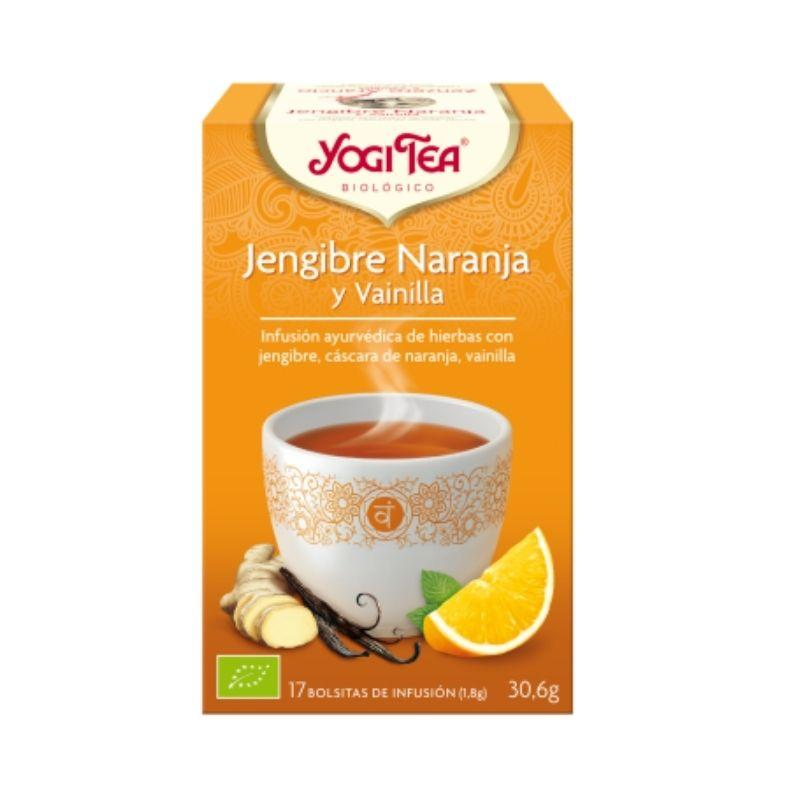 Té Yogi Tea Jengibre, Naranja y Vainilla
