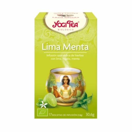 Té Yogi Tea Lima Menta