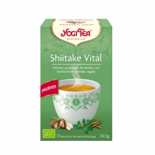 Té Yogi tea Shiitake Vital
