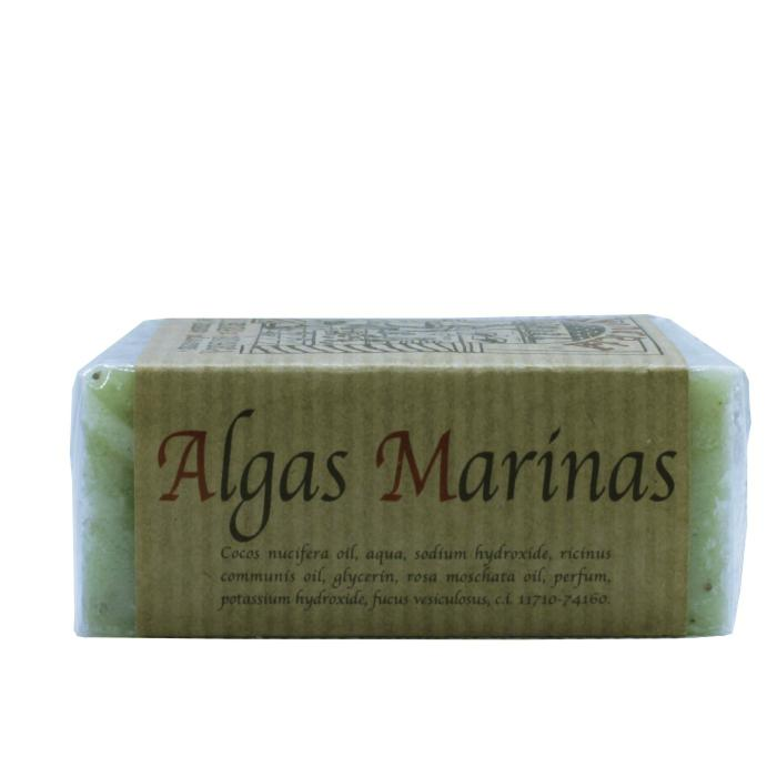 jabón artesanal de algas marinas