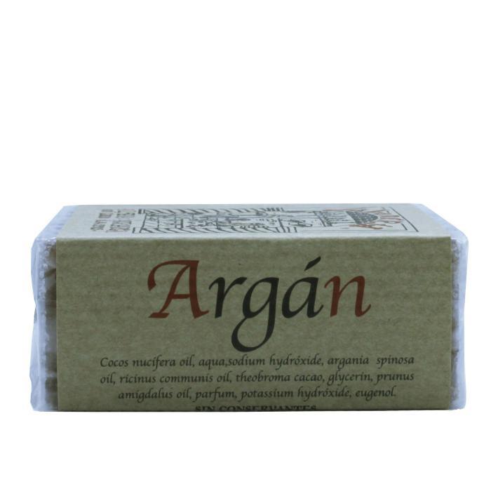Jabón artesanal de argán