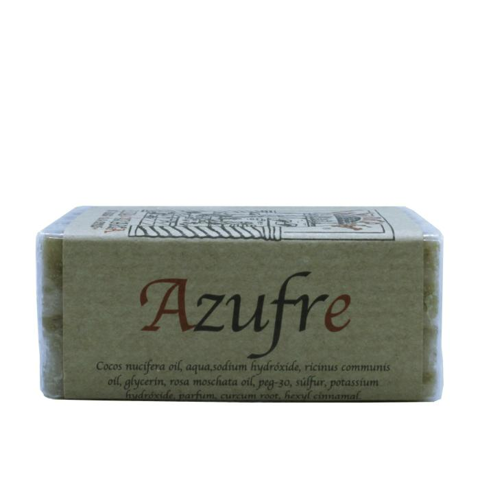 Jabón artesanal de azufre
