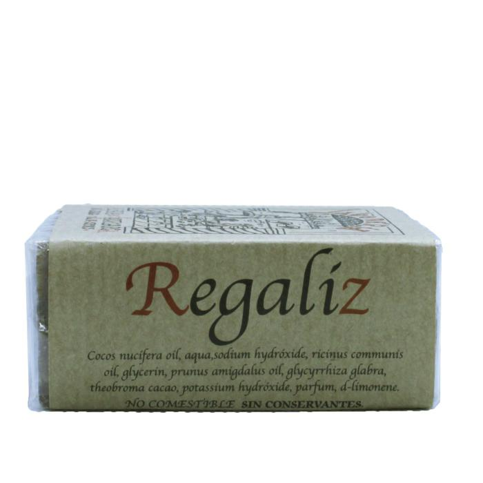 Jabón artesanal de regaliz