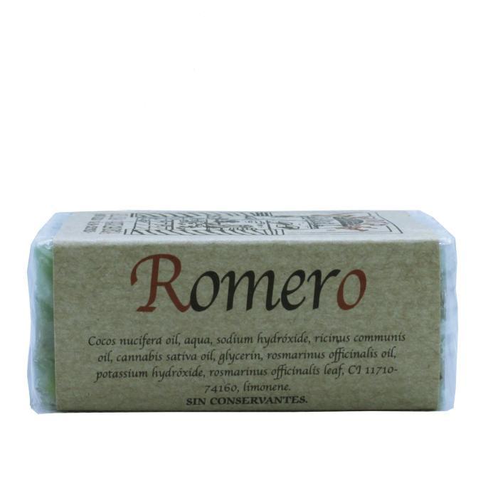 Jabón artesanal de romero
