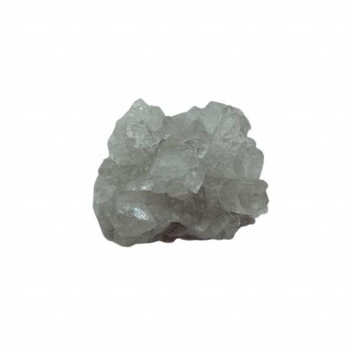 Drusa Mineral de Cuarzo Blanco Mini