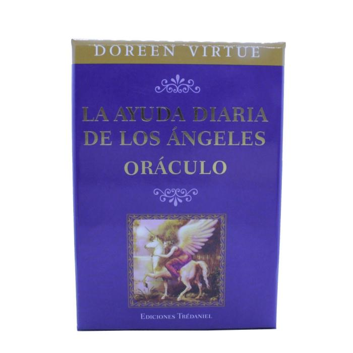 Oráculo La ayuda diaria de los ángeles - Doreen Virtue