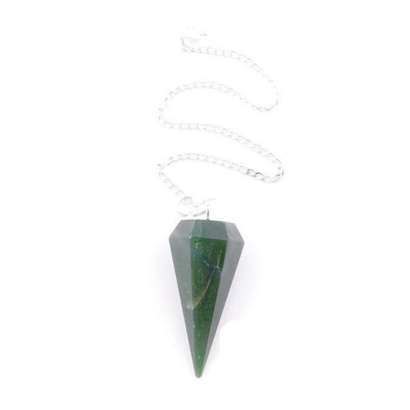 Péndulo de Turmalina Verde