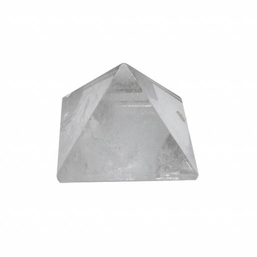 Pirámide de cristal de roca de 4 x 4 cm [0]