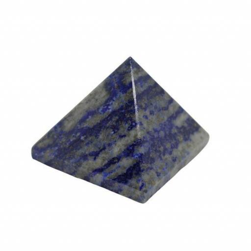 Pirámide de lapislázuli de 4 x 4 cm