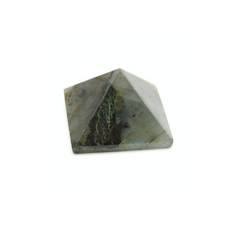 Pirámide Mineral de Labradorita