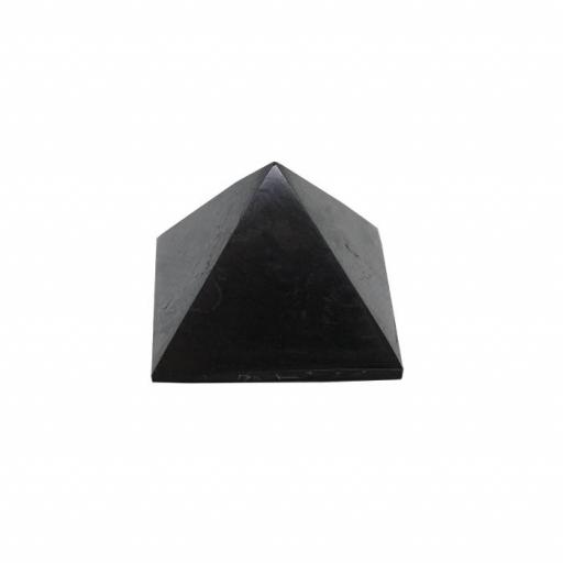 Pirámide de Shungit Pulida 3 x 3 cm