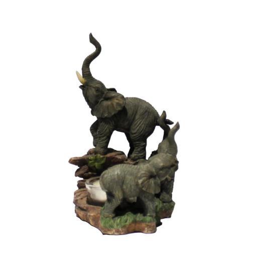 Portavelas elefantes