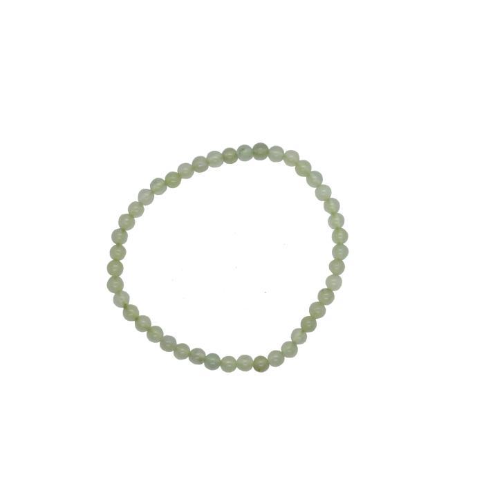 Pulsera mineral bola 4 mm de jade