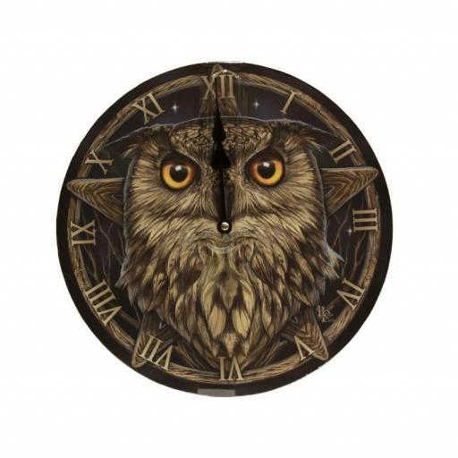 Reloj Cara búho de Lisa Parker