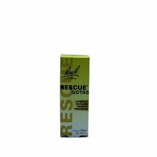Rescue Remedy Flores de Bach de 10 ml