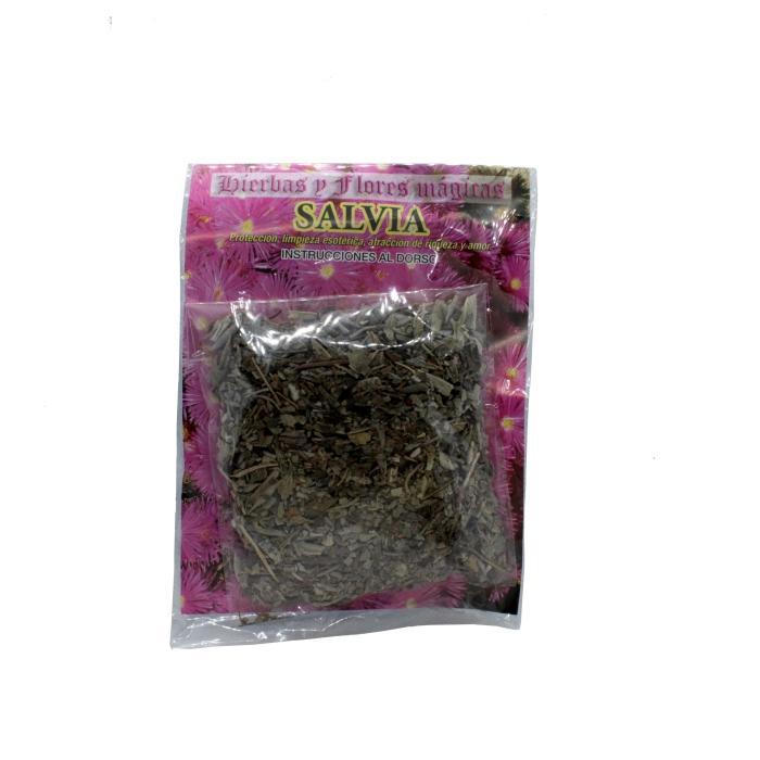 Hojas de Salvia seca