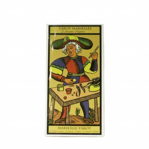 Tarot de Marsella 22 Arcanos mayores grande