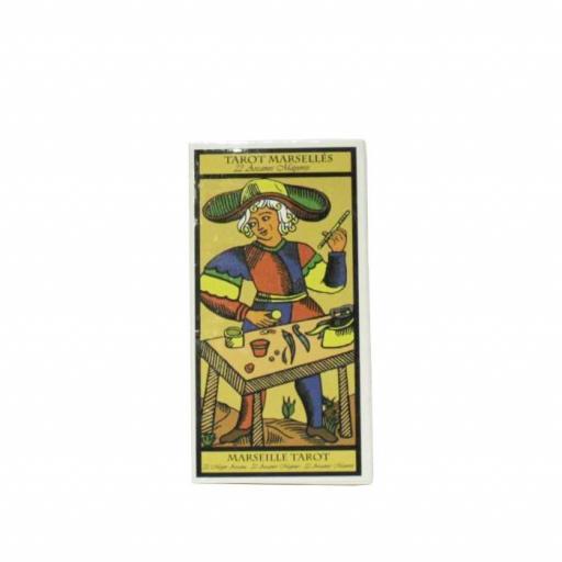 Tarot de Marsella 22 Arcanos mayores pequeño