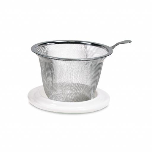 Taza con mandala gris [2]
