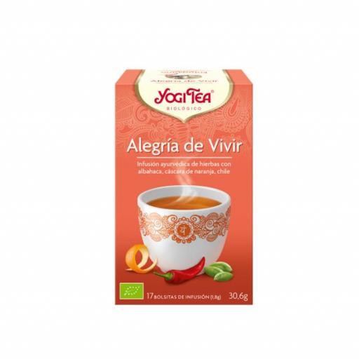 Té Yogi Tea  Alegría de vivir [0]