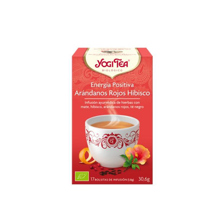 Té Yogi Tea Arándanos rojos hibisco