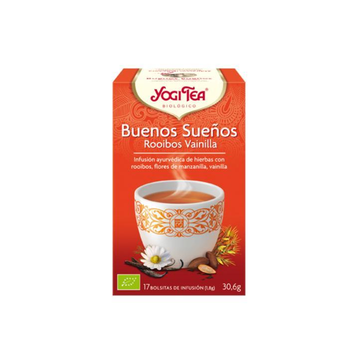 Té Yogi Tea Buenos sueños Rooibos Vainilla