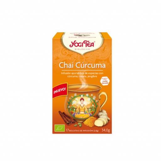 Té Yogi tea Chai Cúrcuma