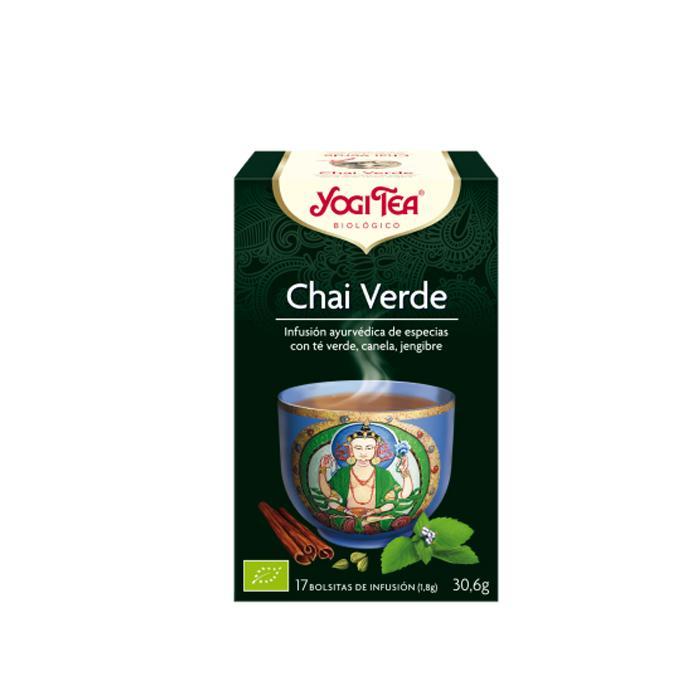 Té Yogi Tea Chai verde