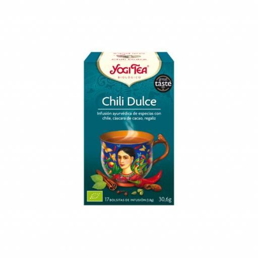 Té Yogi Tea Chili dulce [0]